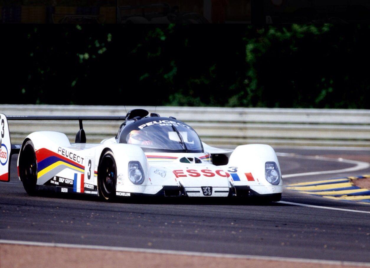 Peugeot 905: Geoff Brabham, LeMans 1993...