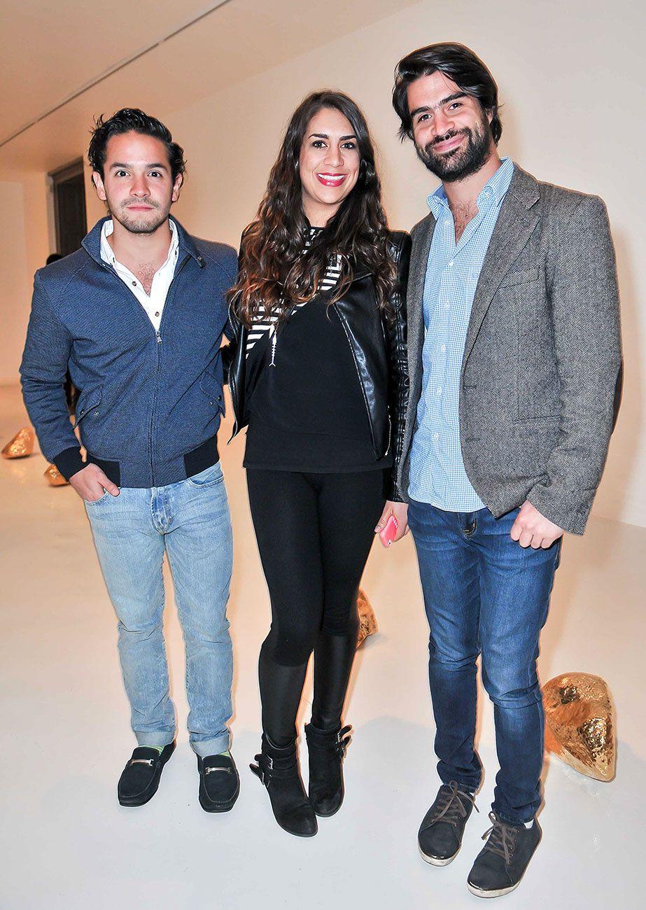 Edgar Franco, Eugenia Villalpando, y Juan Carlos Villalpando