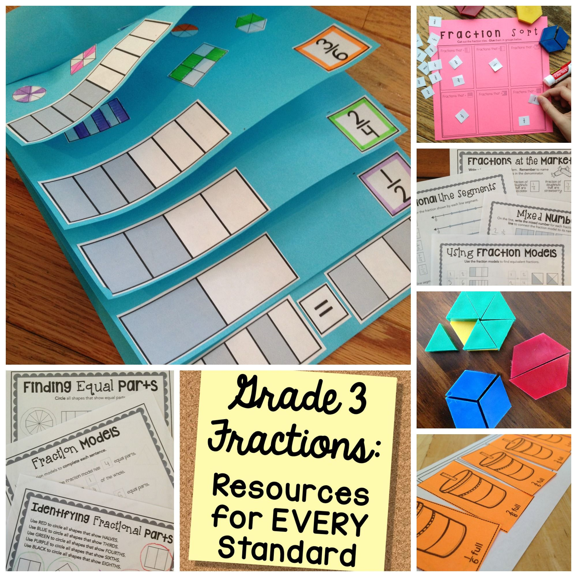 Equivalent Fractions Worksheets 3