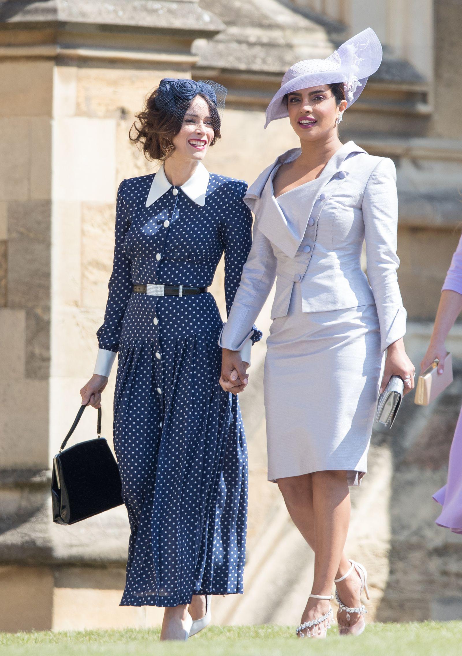 86ab459ba79 Kate Middleton Wore the Same Polka Dot Dress as a Royal Wedding Guest-  HarpersBAZAAR.com