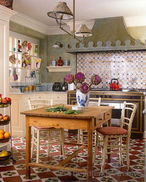 In This Kitchen A Retro Look Is