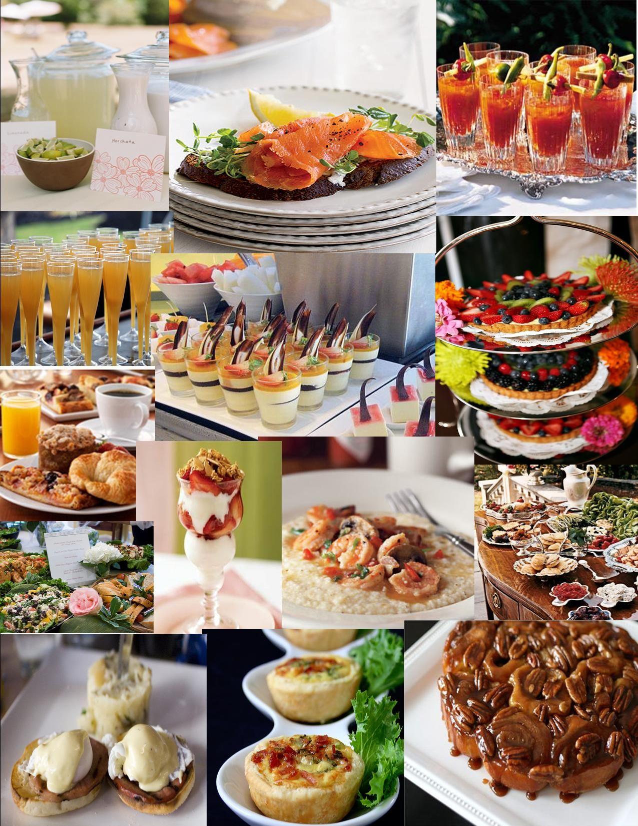 Lets Do Brunch Wedding Reception IdeasReception FoodBrunch