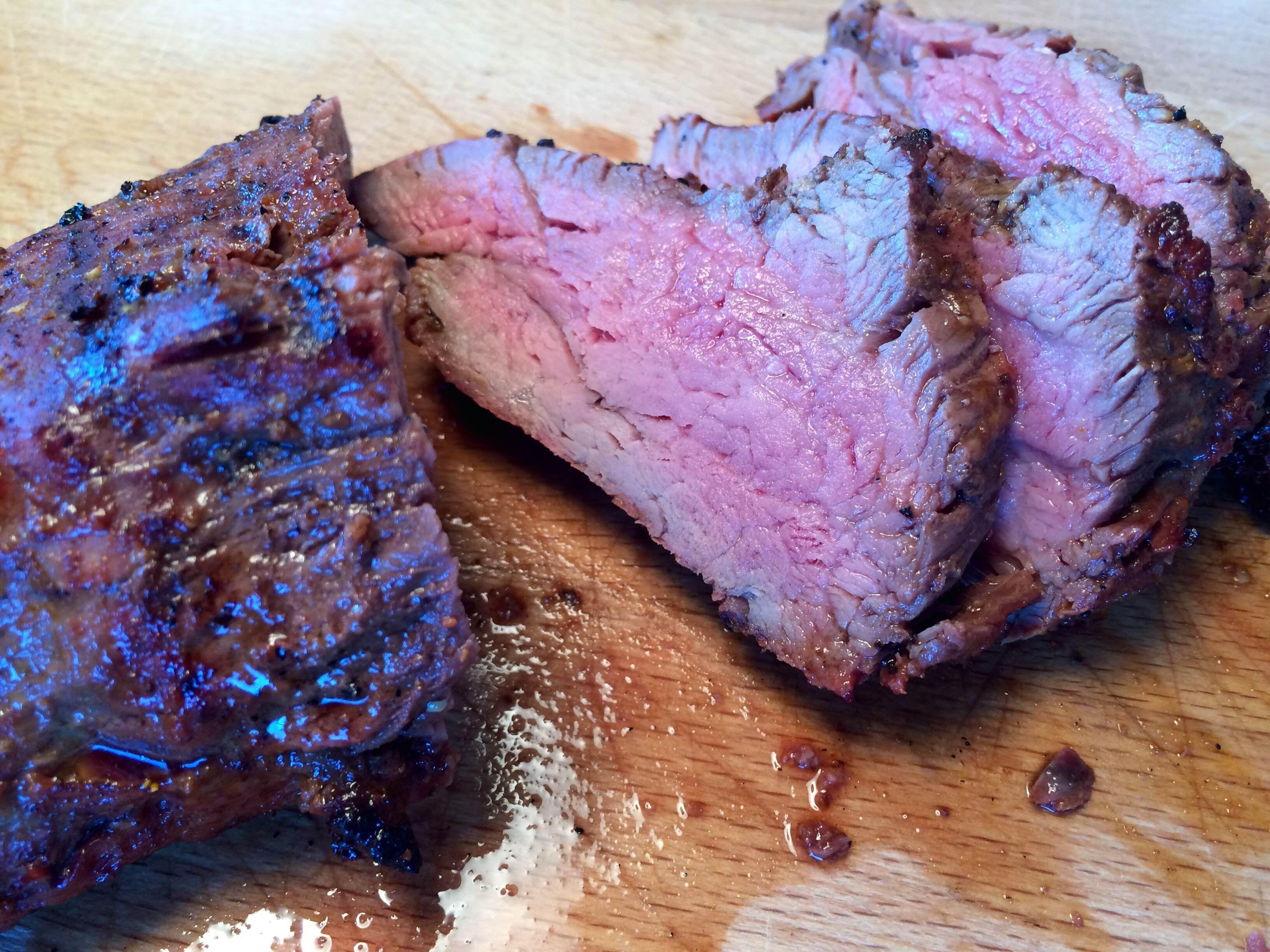 Spareribs Stegetid Gasgrill : Chateaubriand oksemørbrad på grill med stegetid oksekød kalv