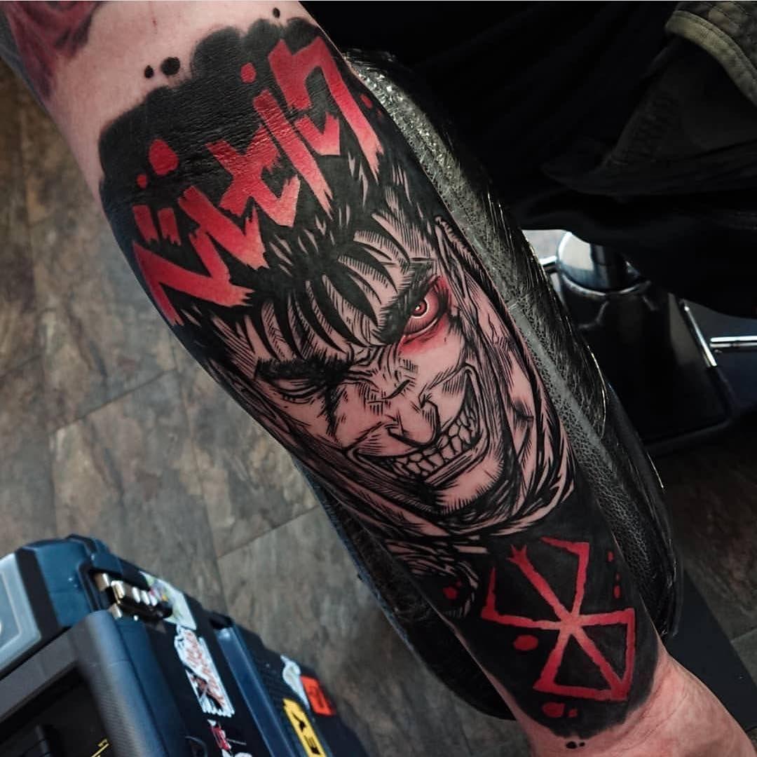 Pin By Carli Rose Zepp On Berserk Anime Tattoos Manga Tattoo Viking Rune Tattoo
