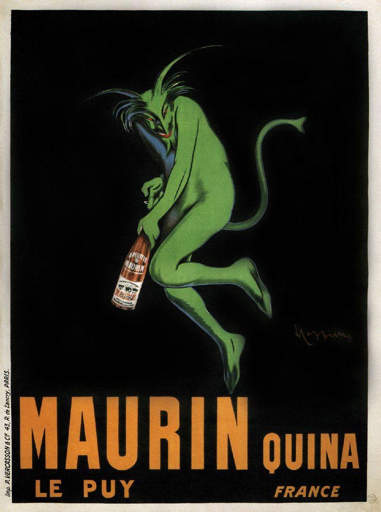 Pates Baroni 1921 Vintage Poster Print Pasta Kitchen Decor Advert Cappiello Art