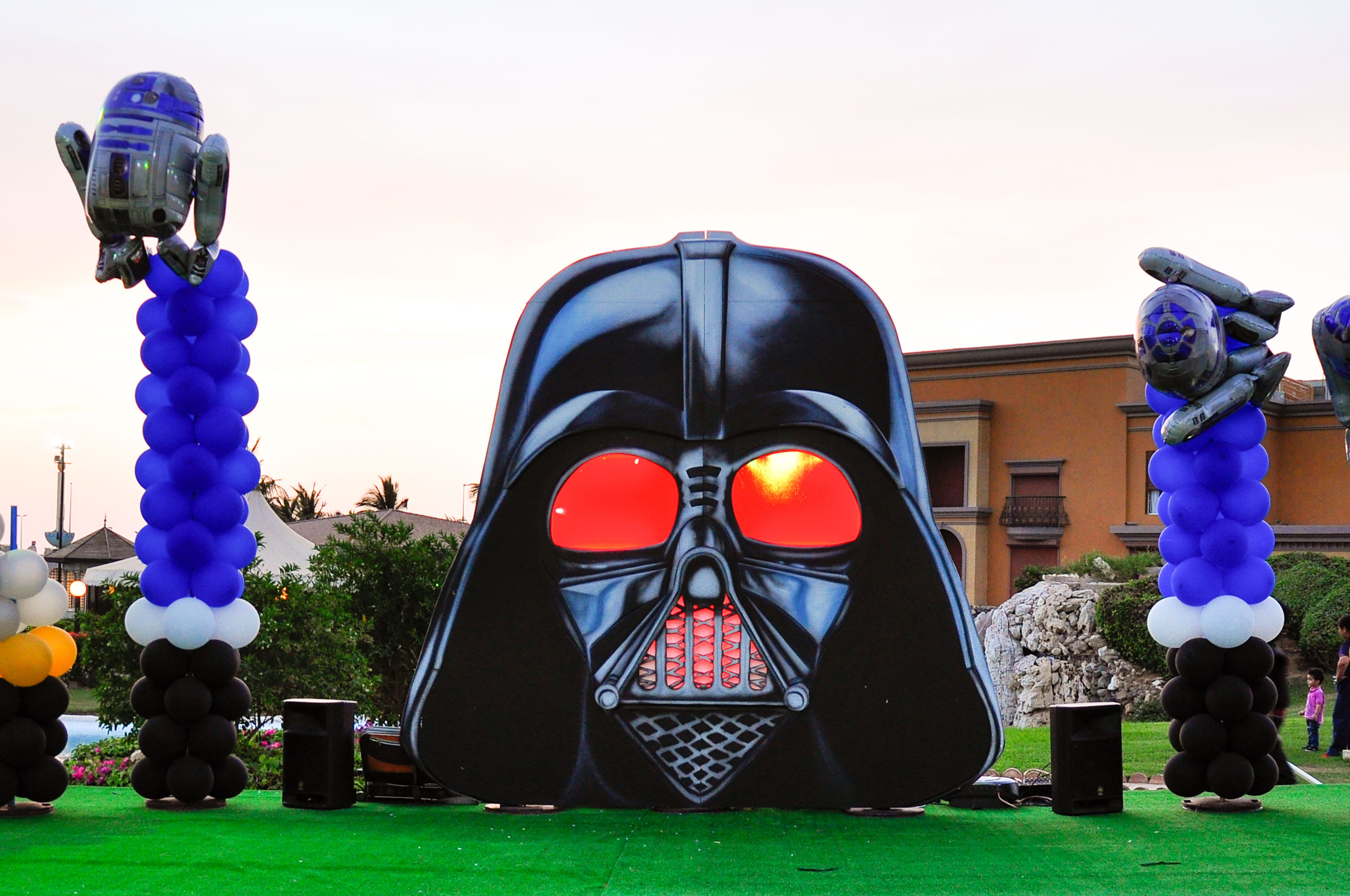 Star Wars DARTH VADER Square Birthday Party Decoration Balloon