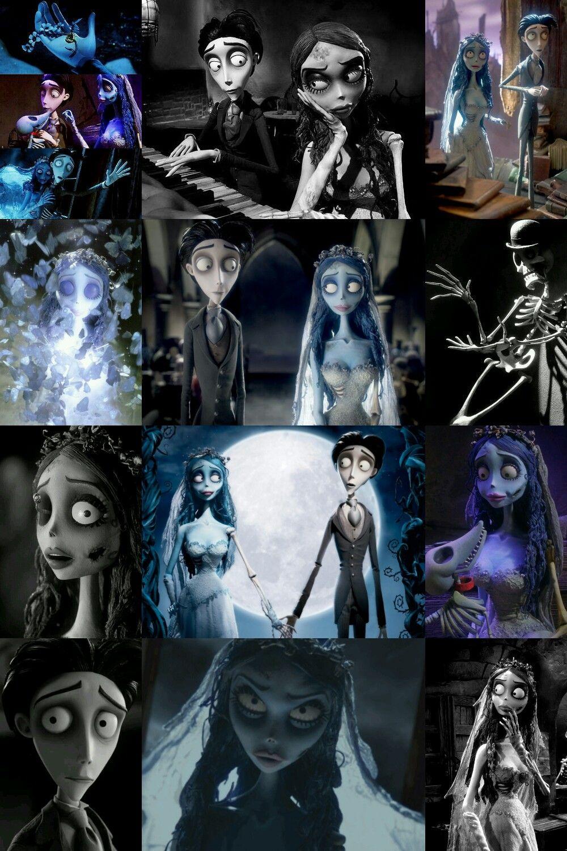Victor Emily Corpse Bride Timburton El Cadaver De La Novia Arte De Tim Burton Princesas Disney Zombie