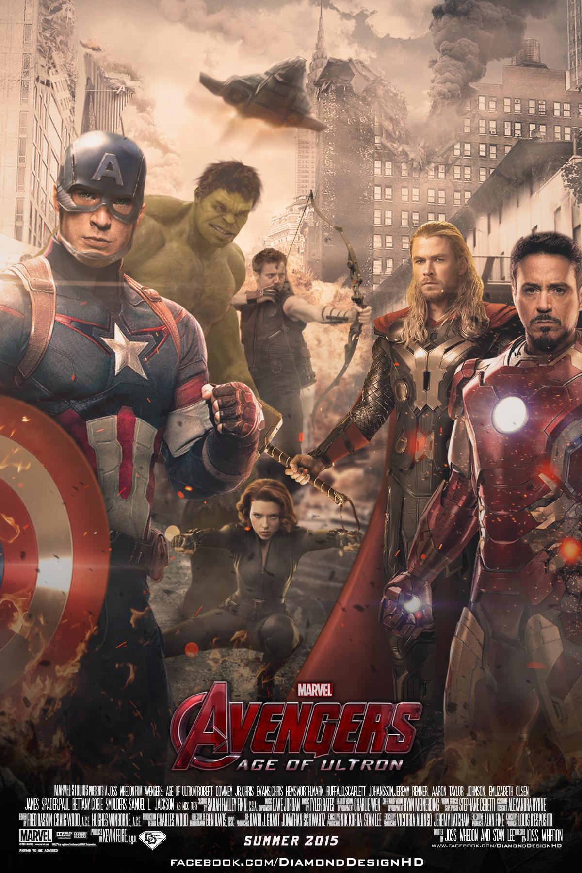 Avengers Age Of Ultron Fan Poster