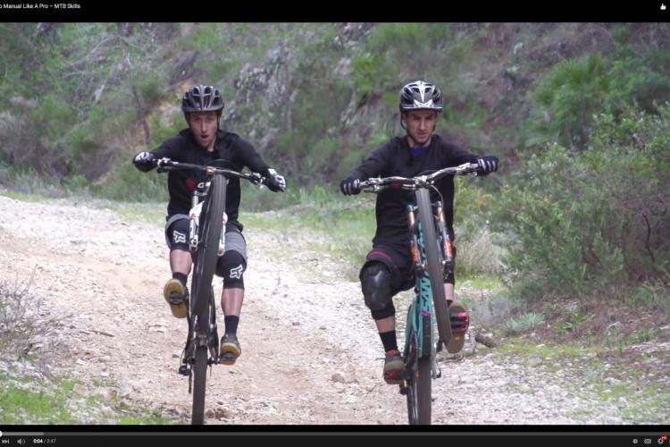 video how to manual your bike like a pro best mountain bikesvideo how to manual your bike like a pro singletracks mountain bike news