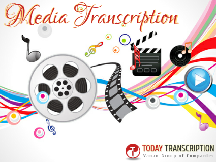 Convert any type of media file and get finest quality transcription services from today transcription.