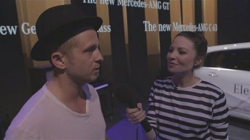 Mercedes-Benz Reporter Torie talking with brand ambassador Ryan Tedder from OneRepublic about the cooperation... - https://plus.google.com/106129845850785943761/posts/4Bdt463tzFY