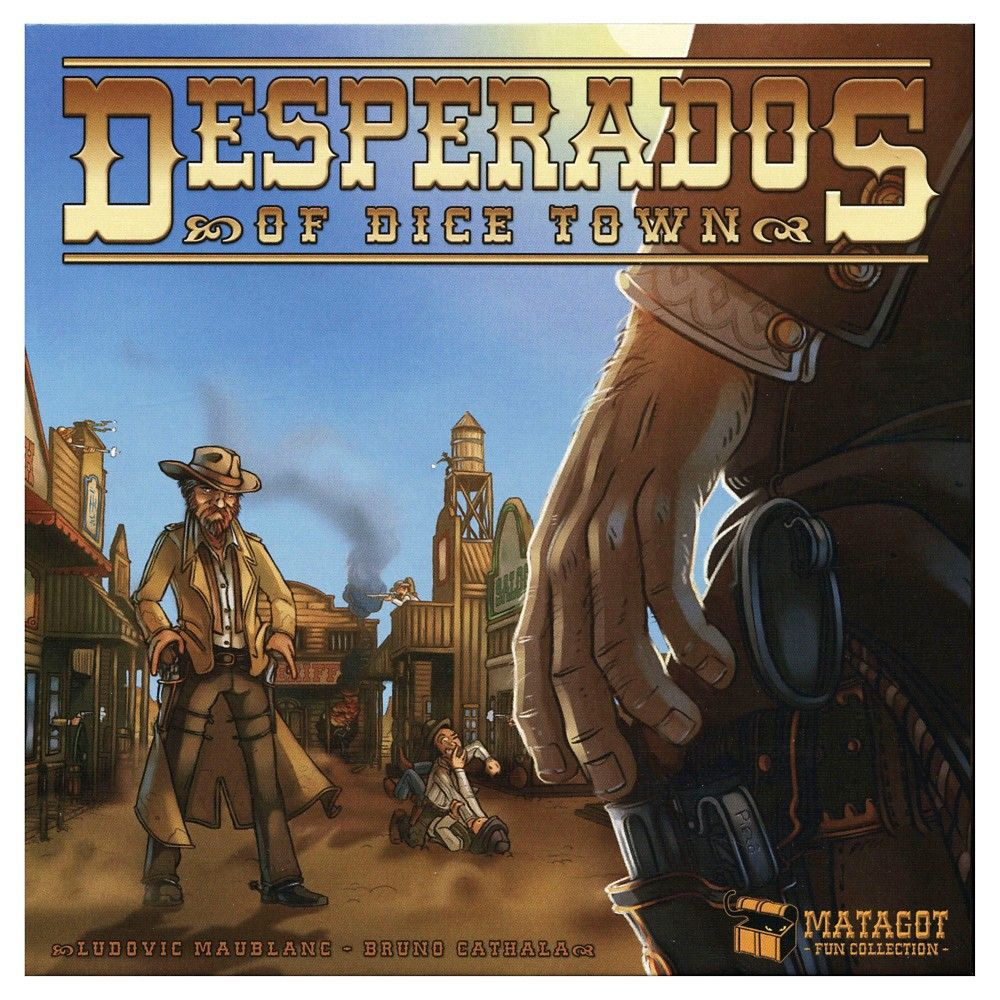 Desperados of Dice Town Game