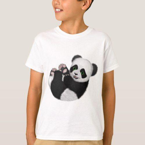 Baby Panda Bear T-Shirt       $20.90   by  ratherkoolshop #babypandabears