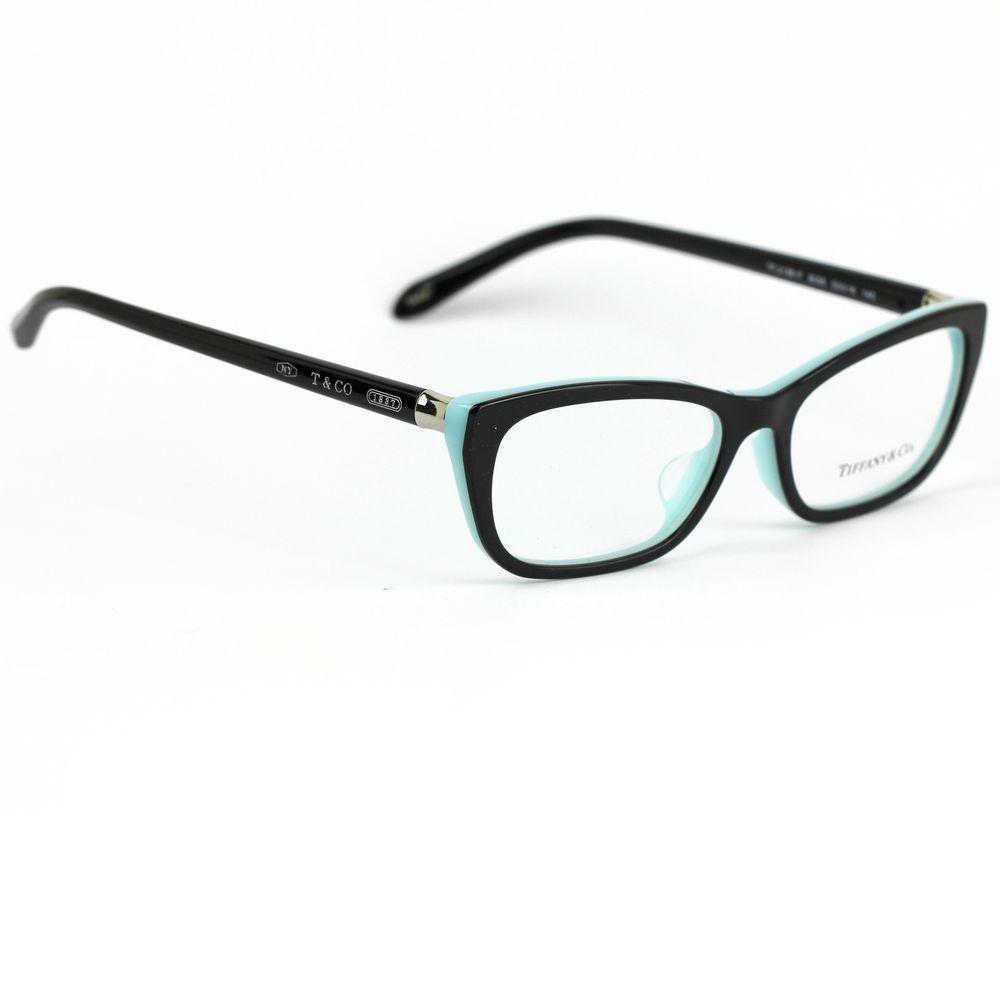 Tiffany & Co 2136 Eyeglasses Black and Blue Frame   Tiffany and ...
