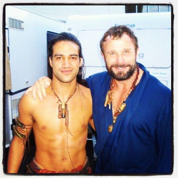 Pana And Barry Pana Hema Taylor Spartacus Tv Actors