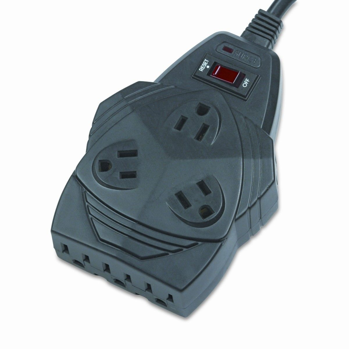 Mighty 8 Surge Protector, 8 Outlets, 6Ft Cord