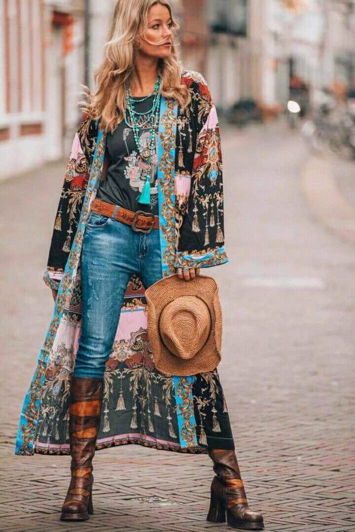 50 Tendências da Moda Hippie: Fotos, Modelos, Dicas, Looks