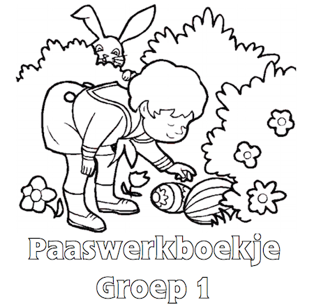 Paaswerkboekje Groep 1 - Klaarwerk.nl