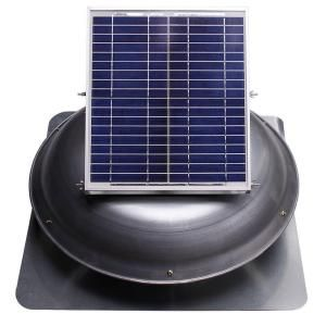 Ventamatic Solar Powered Roof Vent Dome Mounted Panel Vxsoldomwgups At The Home Depot Mobile Solar Roof Attic Vents Solar Roof Vents