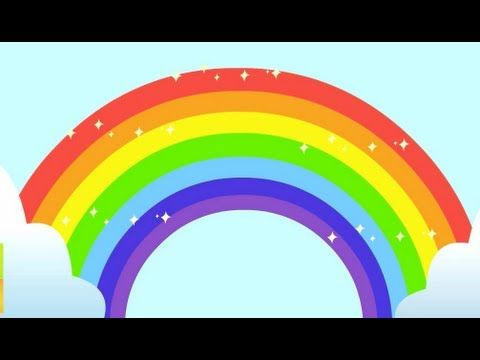 The Rainbow Colors Song Youtube With Images Rainbow Songs Kids Songs Color Songs