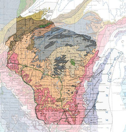 Geologic Maps of the 50 United States | Maps, Cartography, mappe ...