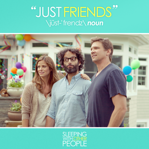 She's fair game as long as you're 'Just Friends'. #SleepingWithOtherPeople gets real about the friend zone this September.