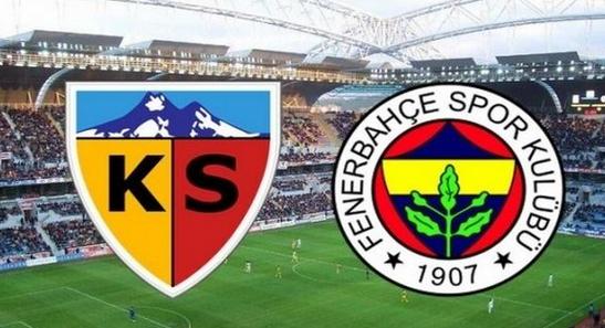 Şifresiz Kayserispor Fenerbahçe maçı JUSTİN TV izle lig