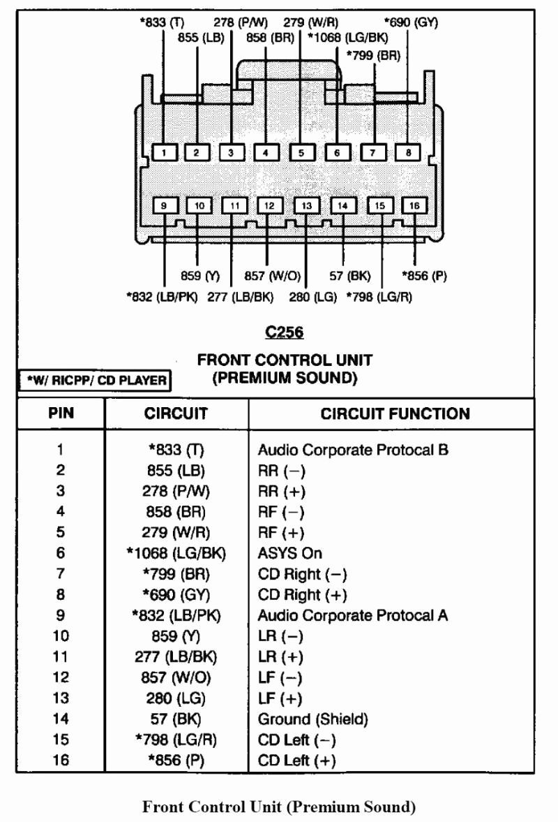60 New 2000 ford Mustang Radio Wiring Diagram | Ford explorer, Ford  expedition, Ford explorer sport | Mustang Stereo Wiring Diagram |  | Pinterest