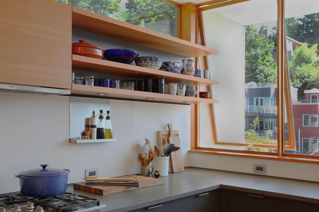 Jendela Dapur Minimalis Rumah Rak Terbuka Rumah Impian