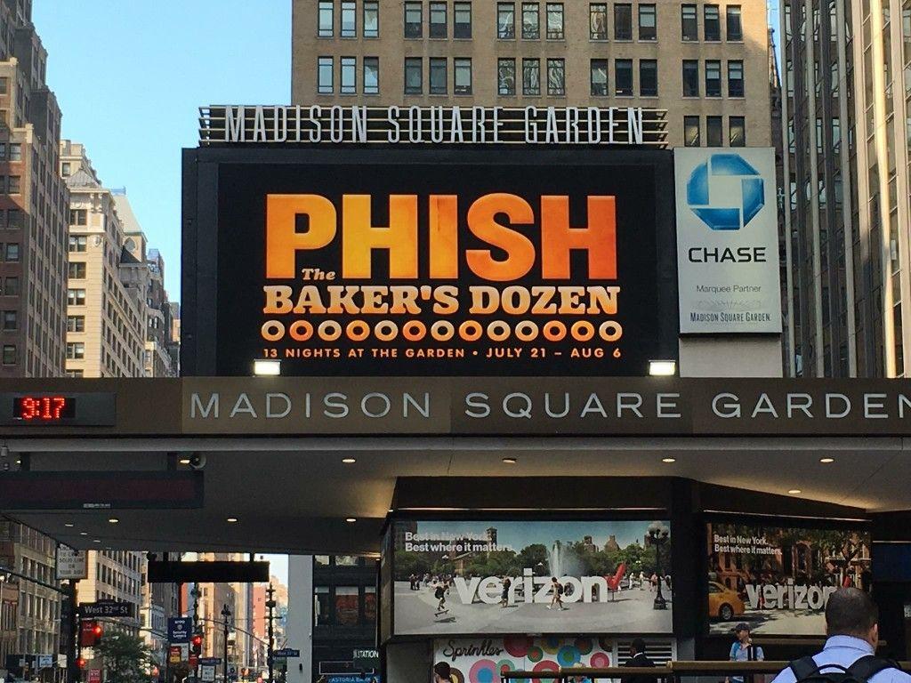 PHISH - Madison Square Garden - Baker's Dozen