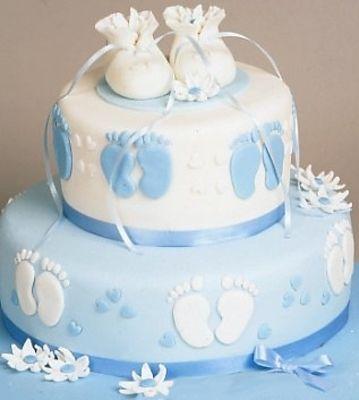 tortas de bautizo para varon - Buscar con Google | Tortas de ...
