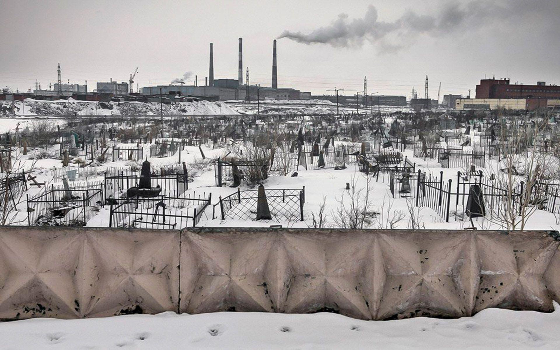 Норильск. Кладбище Автор Сергей Максимишин — Норильск