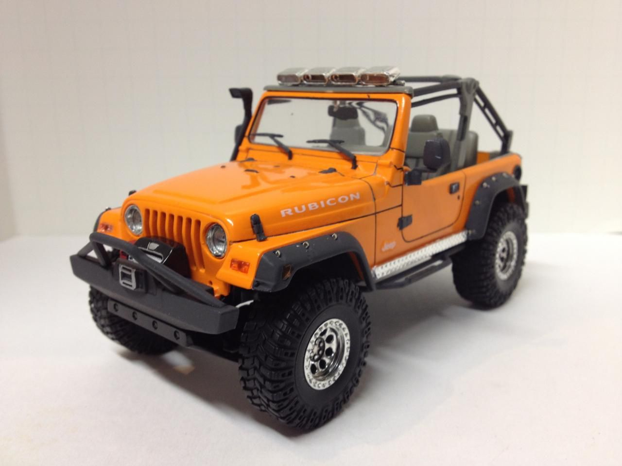 Jeep Rubicon Plastic Model Cars Car Model Jeep Rubicon