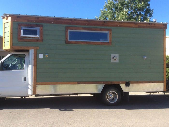 Over In Colorado Randy Berry Of Tiny House RVs Has Just Completed A Sweet