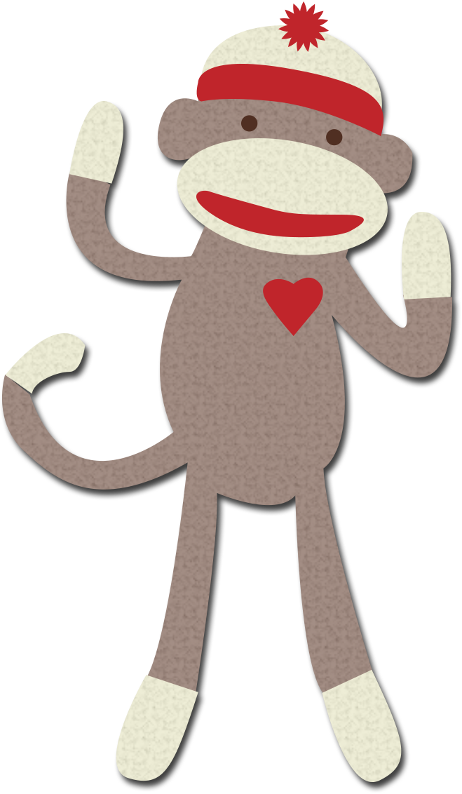 sock monkey clipart google search autism pinterest monkey rh pinterest com au sock monkey clip art black and white sock monkey clip art black and white