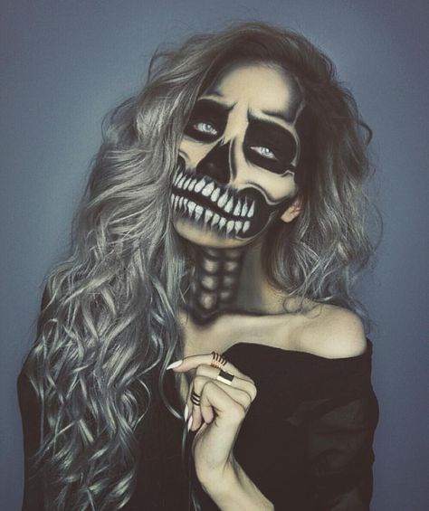 Wow @jessjanemakeup is so talented #vegas_nay More : wow skeleton costume  - Germanpascual.Com