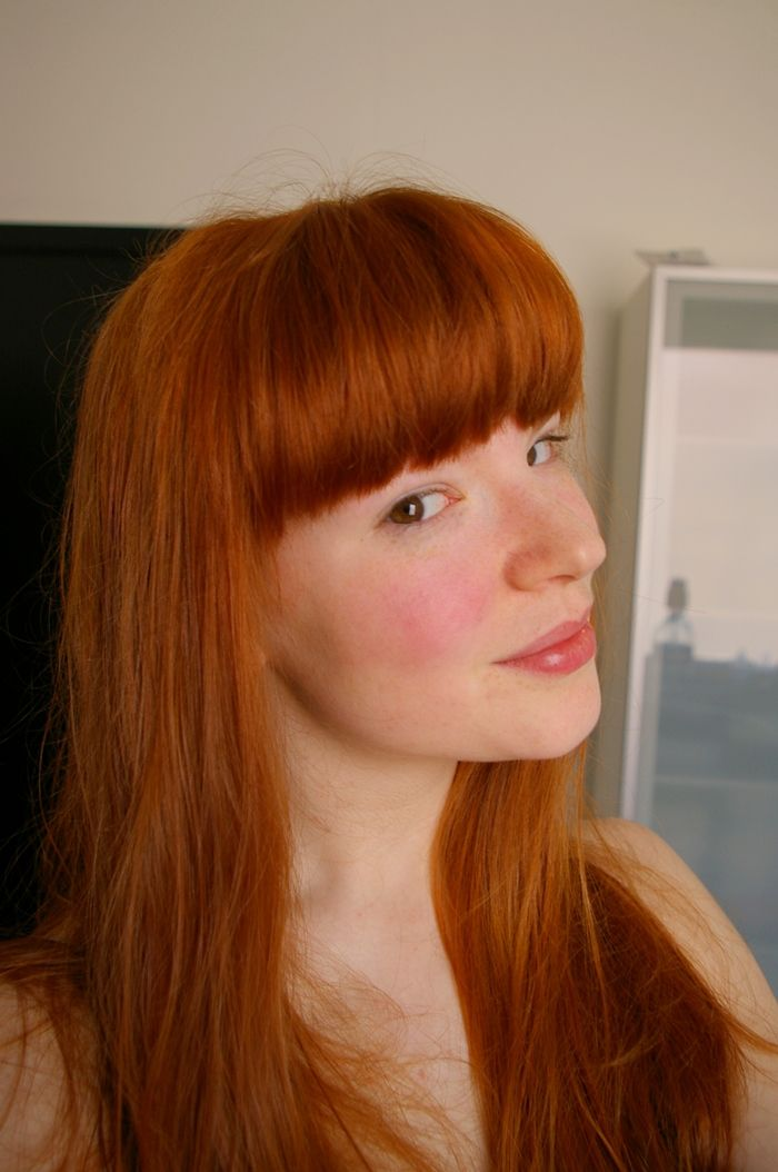 This Girl Was A Natural Redhead And Colored Her Hair With Henna To