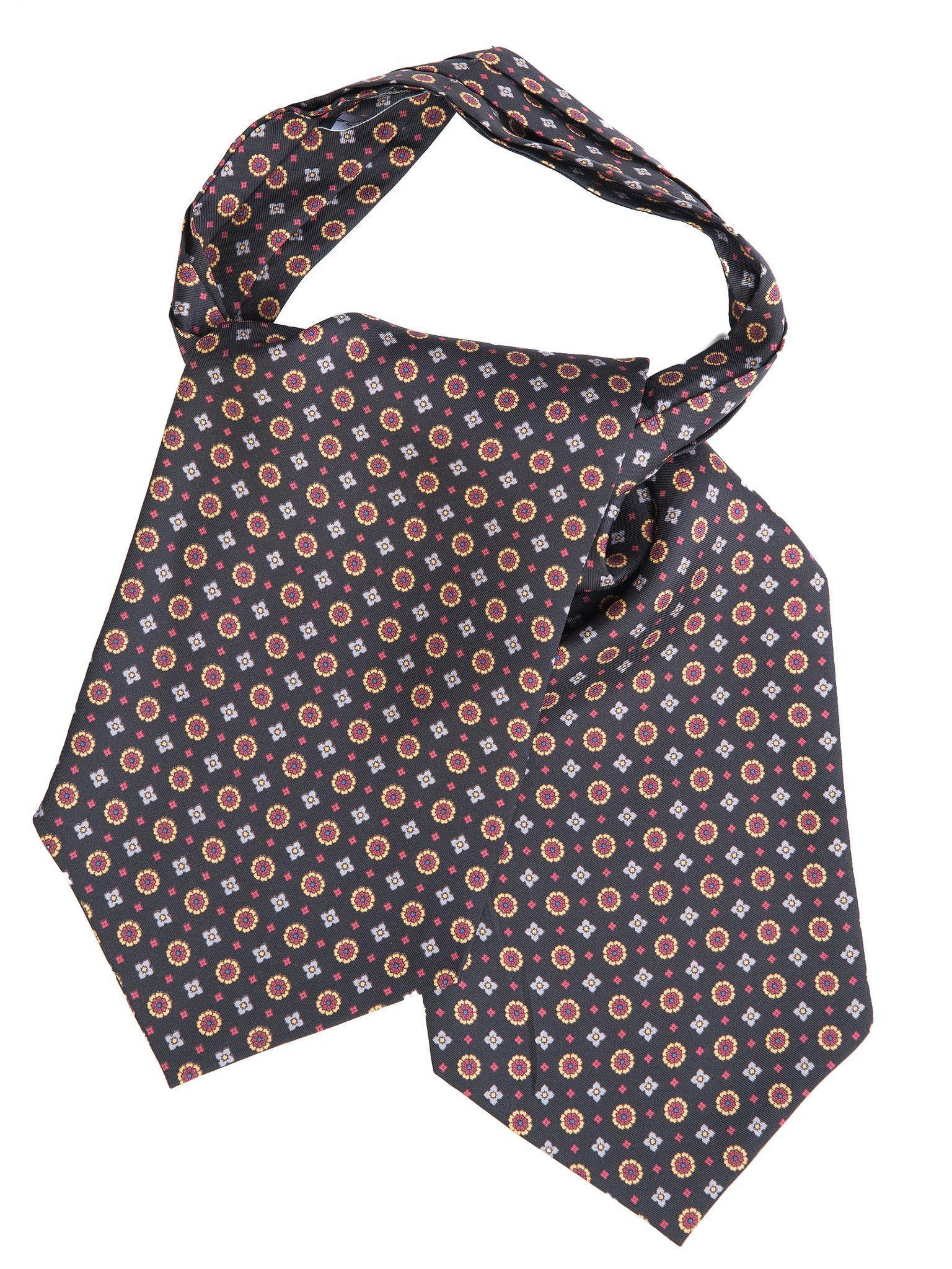 Vico-Silk Ascot Tie