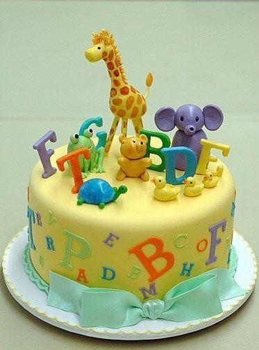Animal Cake Topper