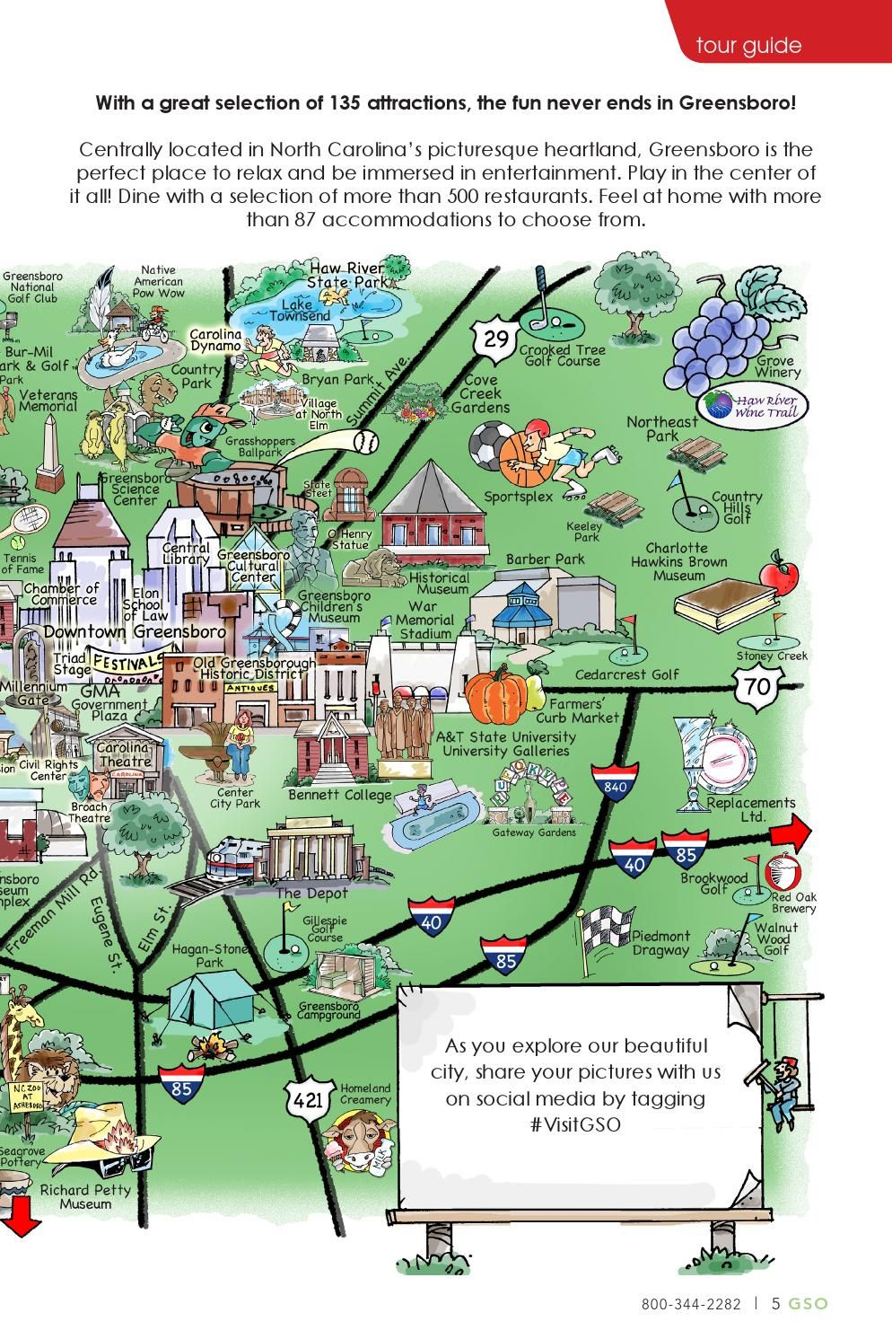 2016 Greensboro, North Carolina Visitors Guide | North ... on map of clarksville nc, map of charlotte nc, map of north carolina, map of memphis tn, map of ogden nc, map of biltmore forest nc, map of griffin nc, map of raleigh nc, map of atlanta, map of bunnlevel nc, map of salemburg nc, map of saxapahaw nc, map of greenville nc, map of hog island nc, map of charlottesville nc, map of orange co nc, map of asheville nc, map of moyock nc, map of ferguson nc, map of columbus ga,
