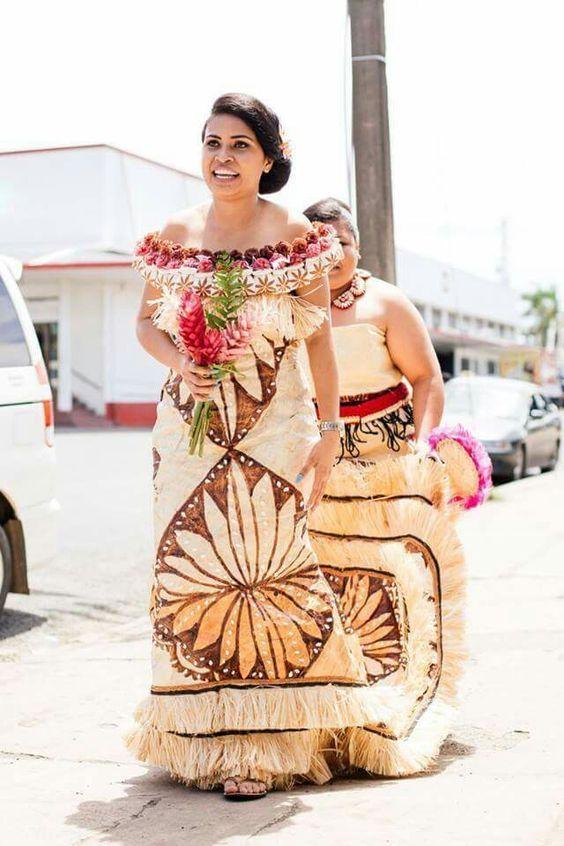 Tapa Wedding Dress Polynesian Couture Wedding Dresses Dresses