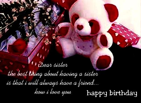 Musical Sister Birthday Cards Birthdays Greetings For Sister My