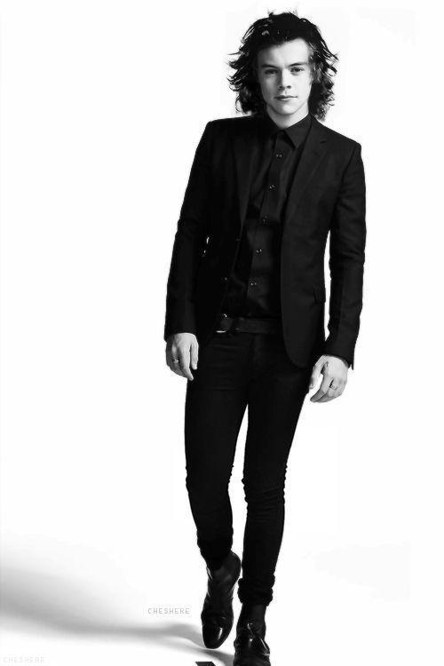 harry styles in black suit - Google Search | Fandom ...
