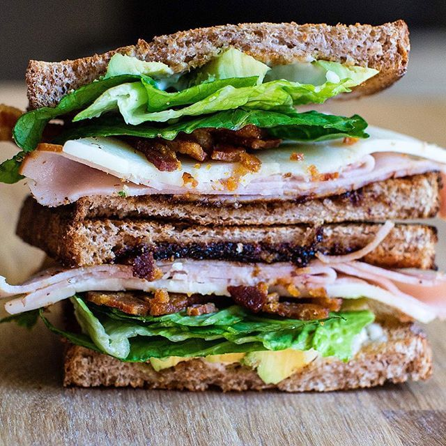 Sometimes a sandwich is an epic event - Turkey and Bacon Sandwich with my awesome Tomato Jam! Recipes #ontheblog