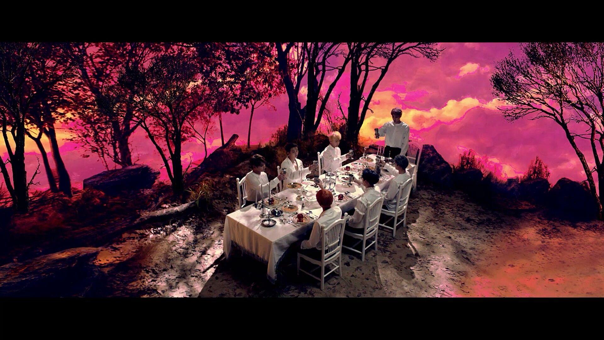 Bangtan Family Dinner ❤ 방탄소년단 (BTS) '피 땀 눈물 (Blood Sweat & Tears)' MV #BTS #방탄소년단