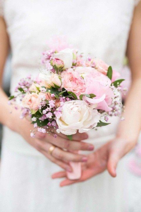 Romantisches Frühlingserwachen in Rosa & Grau - Hochzeitswahn - Sei inspiriert