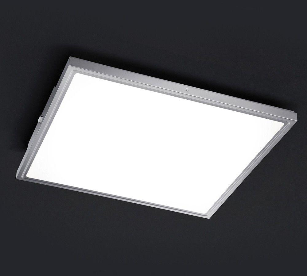 plafonnier led inox