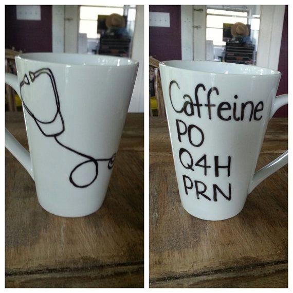 Custom Coffee Mug. Nurse's mug. by LoveItGetItGotIt on Etsy