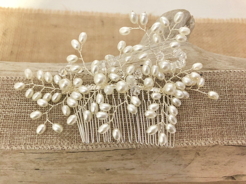 Wedding Hair Comb Pearl Hair Comb Vintage Wedding Hair Comb Etsy In 2020 Vintage Hair Combs Wedding Hair Jewelry Wedding Vintage Wedding Hair