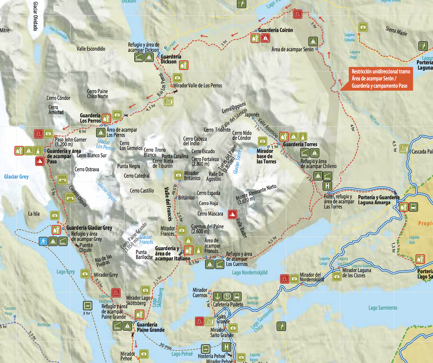 A Guide To Hiking In Torres Del Paine W O And Q Treks